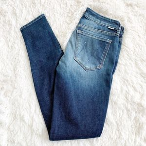 Mother Jeans | The Looker Skinny Leg Ink Shaper 28